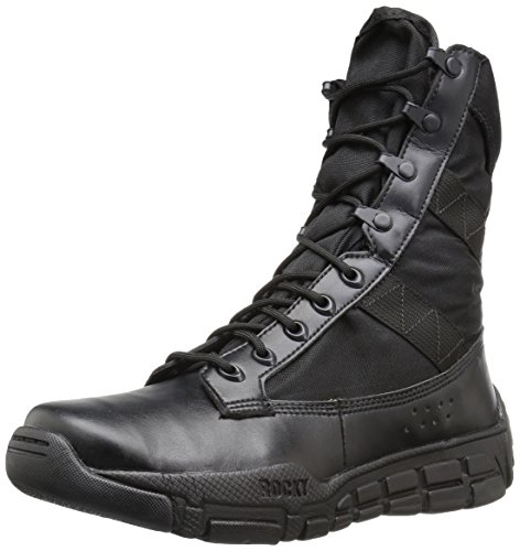 Rocky Men's RY008 Military and Tactical Boot, Black, 5 M US