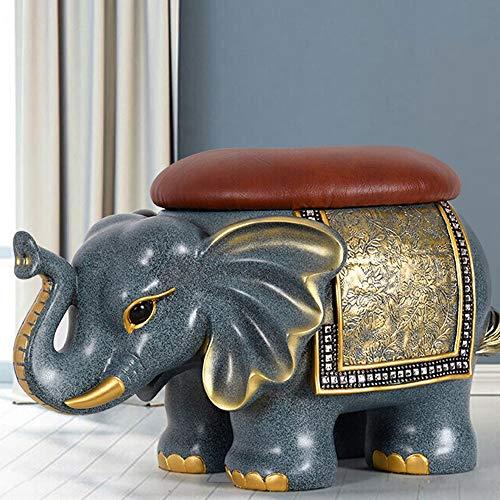 LERDBT Bastidores de Calzado Zapato Elefante Americana de heces de Animales Sala...