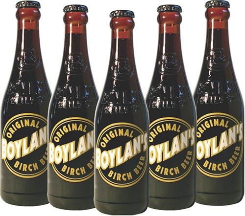 Boylan's Original Birch Beer, 12 Ounce (12 Glass Bottles)