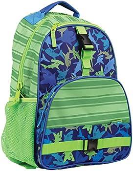 Stephen Joseph All Over Print Backpack (Shark or Owl)