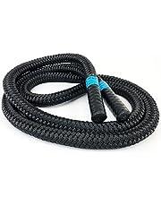 aerobis Battle Jump Rope   1,7 kg tungt snörep   Smålig och flexibel   Hög vikt för styrka uthållighet träning och som komplement till avtagning   hopprep   fitness rep