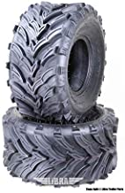 Set 2 ATV Mud Tires 22x10-9 22X10X9 6PR for Honda Recon 250 Suzuki Ozark 250