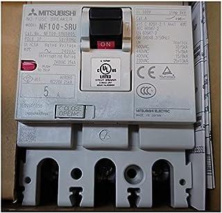 三菱電機(MITSUBISHI ELECTRIC) NF100-SRU 3P 5A AC 合格証 塑料外売式断路器 UL 489 [AX-1LS(ビショウフカ)]