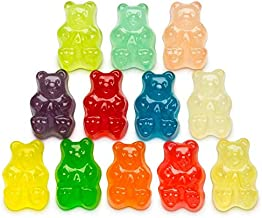 Albanese 12 Flavors Gummi Bears 1oz 30 pack, snack size, party favors by Blue Hippo