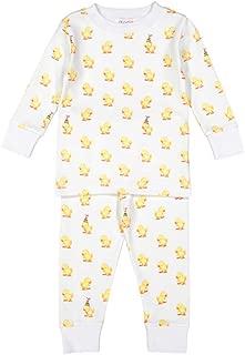 giggle Baby and Toddler Pajamas, tee and Pant, 2 Piece Set, 100% pima Cottom, Soft and snug