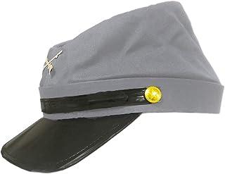 Cotton Civil War Grey Kepi Replica Hat S/M