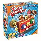Splash Toys 30180 - Geschicklichkeitsspiel Tobi Toaster, Kinderspiel mit herausspringenden Toastscheiben zum Fangen, ideal fr 2 bis 4 Kinder ab 4 Jahre