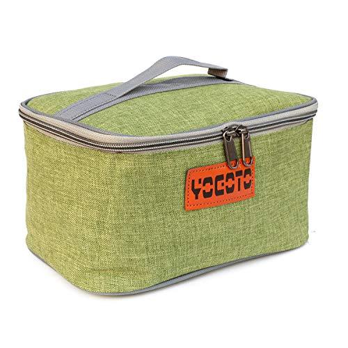 【YOGOTO】 スパイスボックス 調味料ケース ランチボックス キャンプ アウトドア BBQ (グリーン)