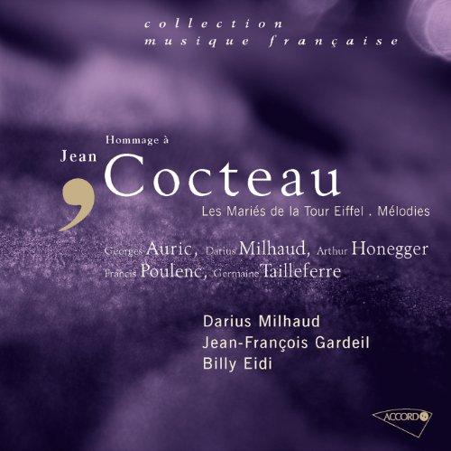 Jacob: 6 poèmes de Cocteau (Locutions-Orageux-Photographie-Miss Aérogyne-Femme volante-Timbre-poste-Trompe l'oeil)