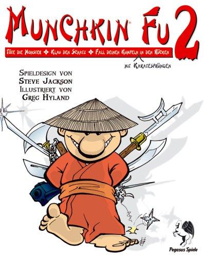 Pegasus Spiele 17141G - Munchkin Fu 2 Mönche mögens heiß