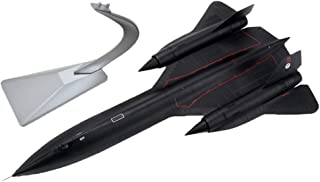 LoveinDIY American SR-71 Blackbird Fighter - 1:72 Metal Die-cast Airplane, Includes Alloy Stand, Teens Adults Collectibles