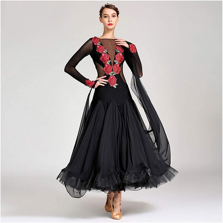 Dance skirt Adult Modern Dress, Ballroom Performance Costume Costume