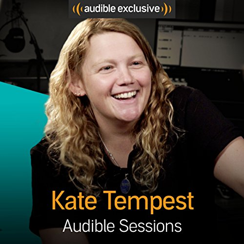 Kate Tempest audiobook cover art
