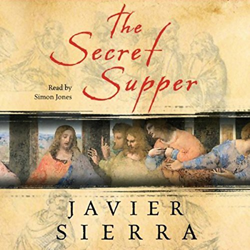 The Secret Supper audiobook cover art