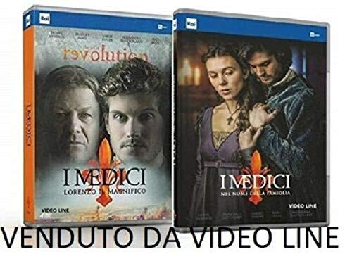 I Medici - Lorenzo Il Magnifico / I Medici - Nel Nome Della Famiglia (8 DVD) Edizione Italiana