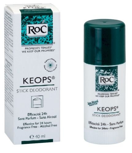 Roc Keops Desodorante Stick 40 ml, Sin fragancias !