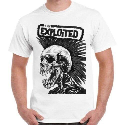 Exploited Hardcore Punk Rock Band Music Retro T Shirt