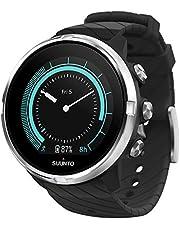 Suunto 9 GPS-sporthorloge met lange batterijduur en hartslagmeting aan de pols