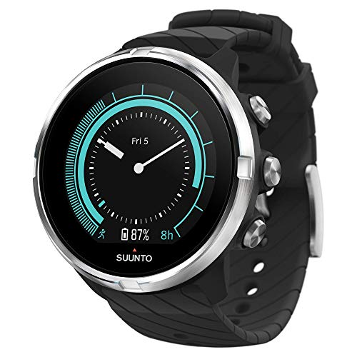 SUUNTO 9 GPS Sports Watch, Non-Baro, Black