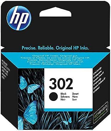 HP 302 F6U66AE Cartuccia Originale per Stampanti a Getto di Inchiostro, Compatibile con Stampanti HP DeskJet 1110, 2130 e 3630, HP OfficeJet 3830 e 4650, HP ENVY 4520, Nero