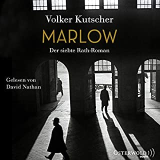 Marlow     Gereon Rath 7              By:                                                                                                                                 Volker Kutscher                               Narrated by:                                                                                                                                 David Nathan                      Length: 13 hrs and 47 mins     Not rated yet     Overall 0.0