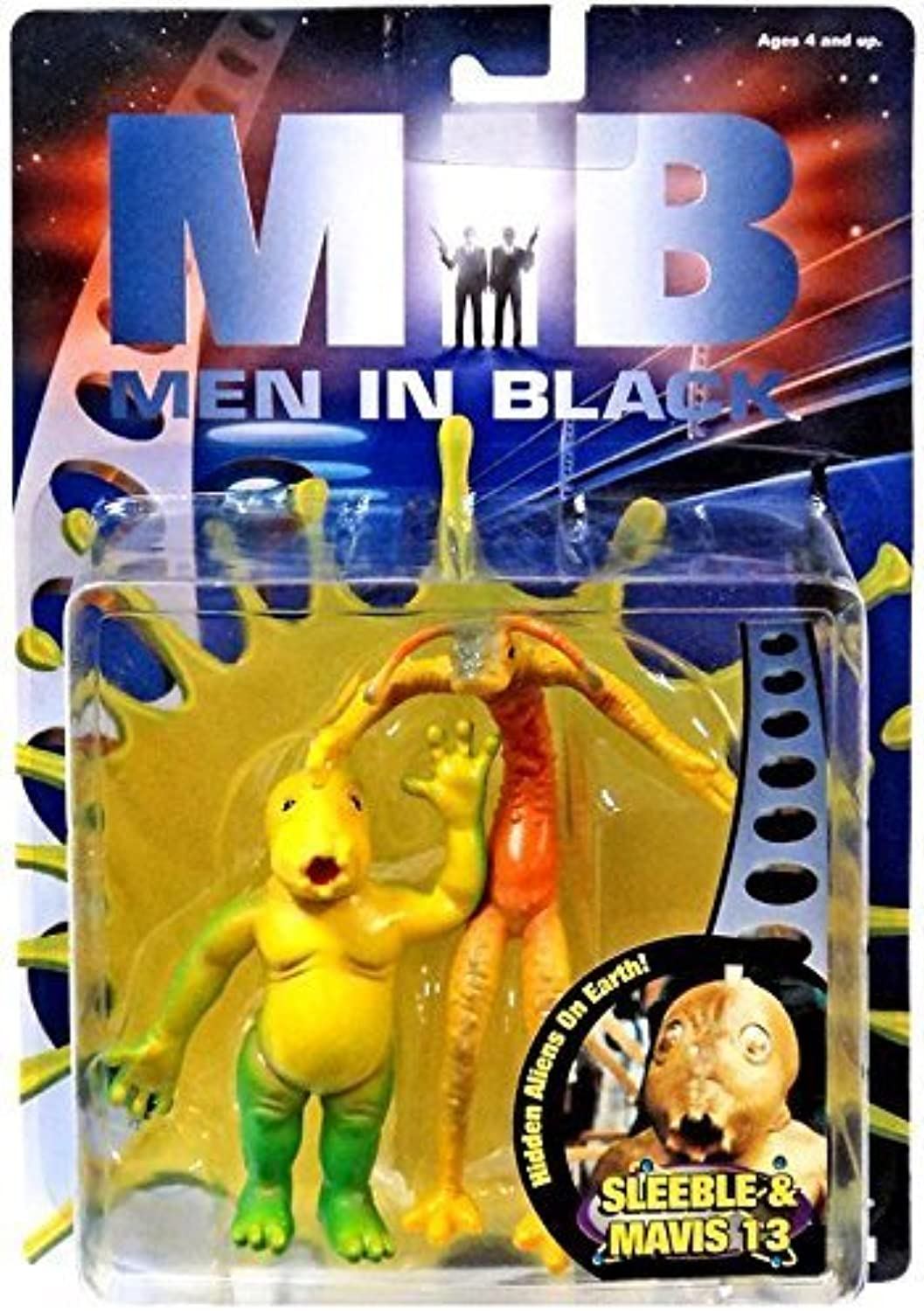 Men in Black movie Sleeble & Mavis 13 figures by Galoob