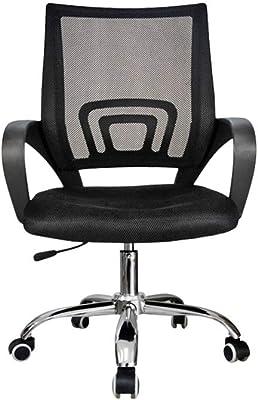 DALIBAI Cadeira de escritório de malha giratória, suporte lombar, cadeira de trabalho de malha estilo moderno
