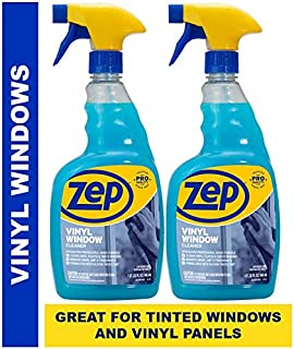 Zep Vinyl Window Cleaner 32 Ounce ZUGVT32 (Pack of 2) - Great for Tinted Windows