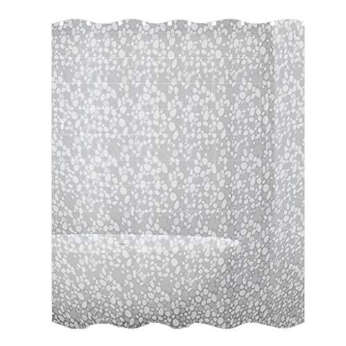 WDX- Douchegordijn Mold, douchegordijn, douchegordijn Verdikte Waterproof douchegordijn Doek Badkamer Gordijn Partition Schimmelbestendig (Color : White, Size : 150 * 200cm)