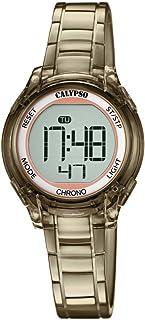 Calypso Reloj Digital para Mujer de Cuarzo con Correa en Plástico K5737/6