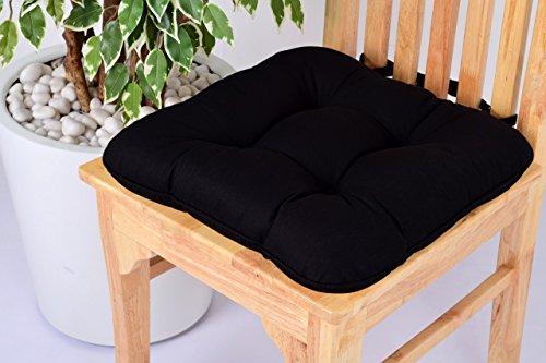 Comfort Beddings Lushness Linen - Cojín para Silla de Comedor, Cocina, Oficina,...