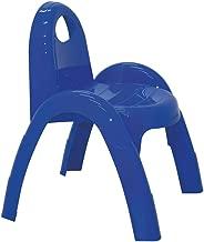 Cadeira Plástica Monobloco com Braços Infantil Popi sem Inserto Tramontina Azul