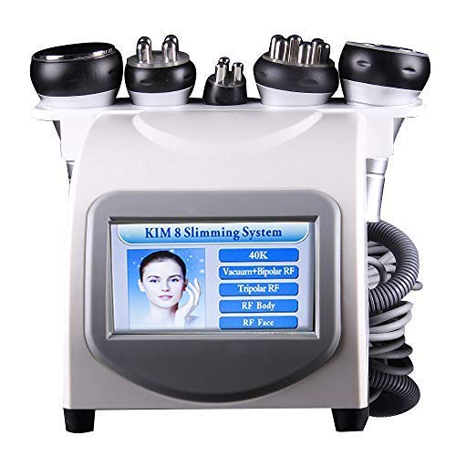 Lolicute 5 in1 Body Slim Vacuum Machine, Body Shaping Skin Rejuvenation Treatment for Home Salon Use 110V