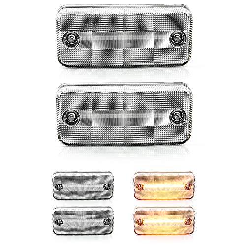 2 X LED Seiten-Markierungs-Leuchte Begrenzungsleuchte mit E4-Prüfzeichen V-174405