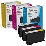 LD Compatible Ink Cartridge Replacement for Lexmark 150XL High Yield (Cyan, Magenta, Yellow, 3-Pack)