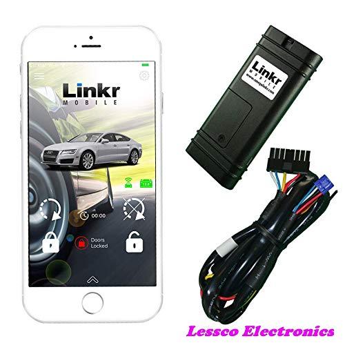 Lessco Electronics Omega MYCAR Carlink LINKR-LT2 Mobile 4G Smart Phone iPhone & Android