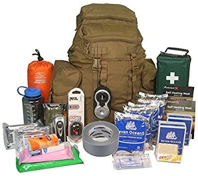 EVAQ8 Emergency Survival Kit Deluxe 2-Person 72-Hour Disaster Grab Bag from EVAQ8
