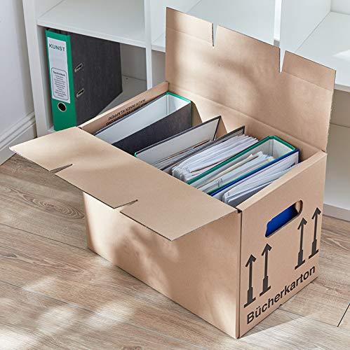 30 Stück Bücherkartons Profi Stabil - 2