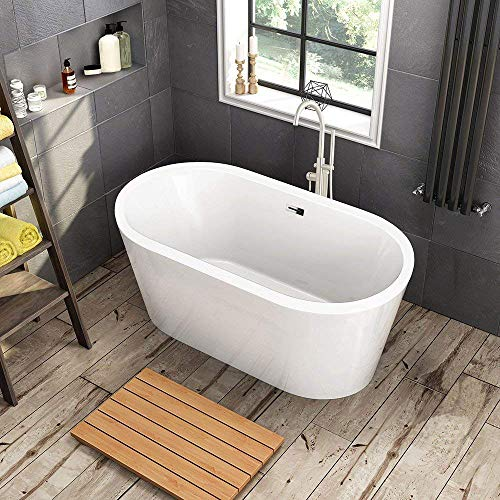 Best Pick: Woodbridge 59-Inch Freestanding Soaking Tub - The Best Soaking