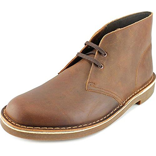 Clarks Men's Bushacre 2 Chukka Boot,Dark Brown,10 M US