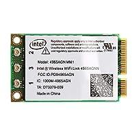 300Mbps WiFi Link Mini PCI-E Wireless Card For 4965AGN NM1