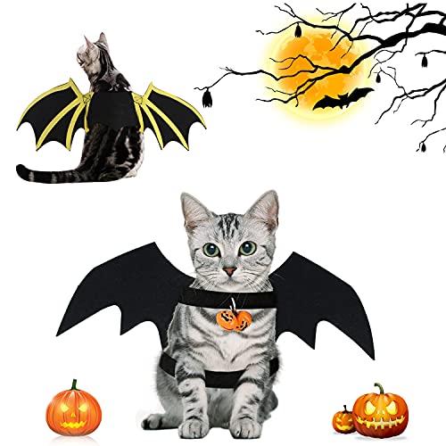 Fledermausflügel Kostüm, Haustier Fledermaus Kostüm, Katze Fledermaus Kostüm, Haustier Katze Fledermaus Flügel, Katze Bat Wings Kostüm, Halloween Haustier Kostüm, fürParty Dekoration
