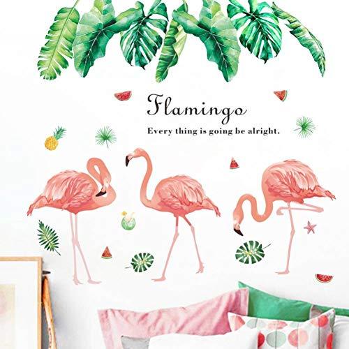 FOMBV Vinyl plant palmboom bladeren muur stickers PVC DIY dierlijke fruit woonkamer keuken baby slaapkamer huisdecoratie