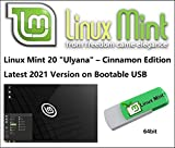 Linux Mint 20 USB - Latest Version for 2021 on Bootable USB