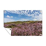 Outdoor poster Wattenmeer - Wonder Schönes Bild einer rosa