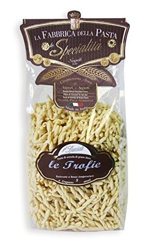 Original italienische Pasta trafilati al bronzo Le Trofie di Gragnano IGP 500g