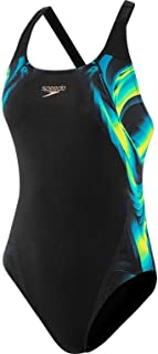 Speedo ColourSoul Placement Digital Powerback Womens Swimsuit