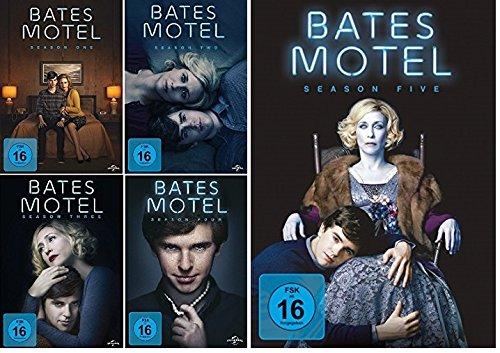Bates Motel - Season One, Two, Three, Four & Five im Set - Deutsche Originalware [15 DVDs]
