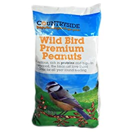 Brand Choice Ltd Countryside 1Kg Wild Bird Premium Peanuts