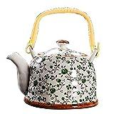 Fancy Pumpkin El Regalo de cerámica Retro del té de la Tetera Fija los potes de té de Gran Capacidad para el hogar/el Restaurante/el Hotel, A-02
